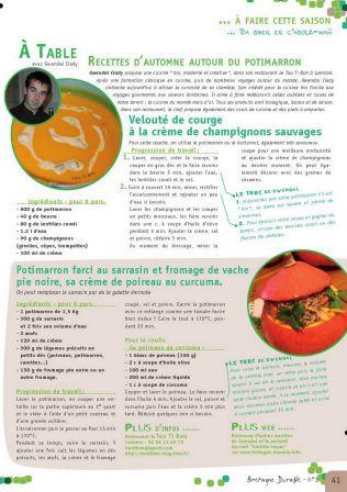 Cuisiner bio, desserts sains et naturels...c'est quoi ?